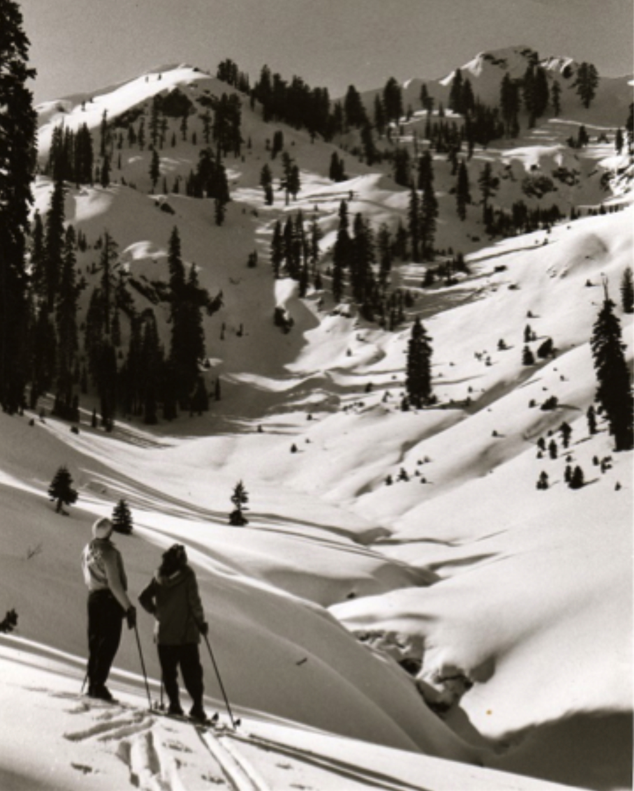 Early Squaw Valley Ski Expedition