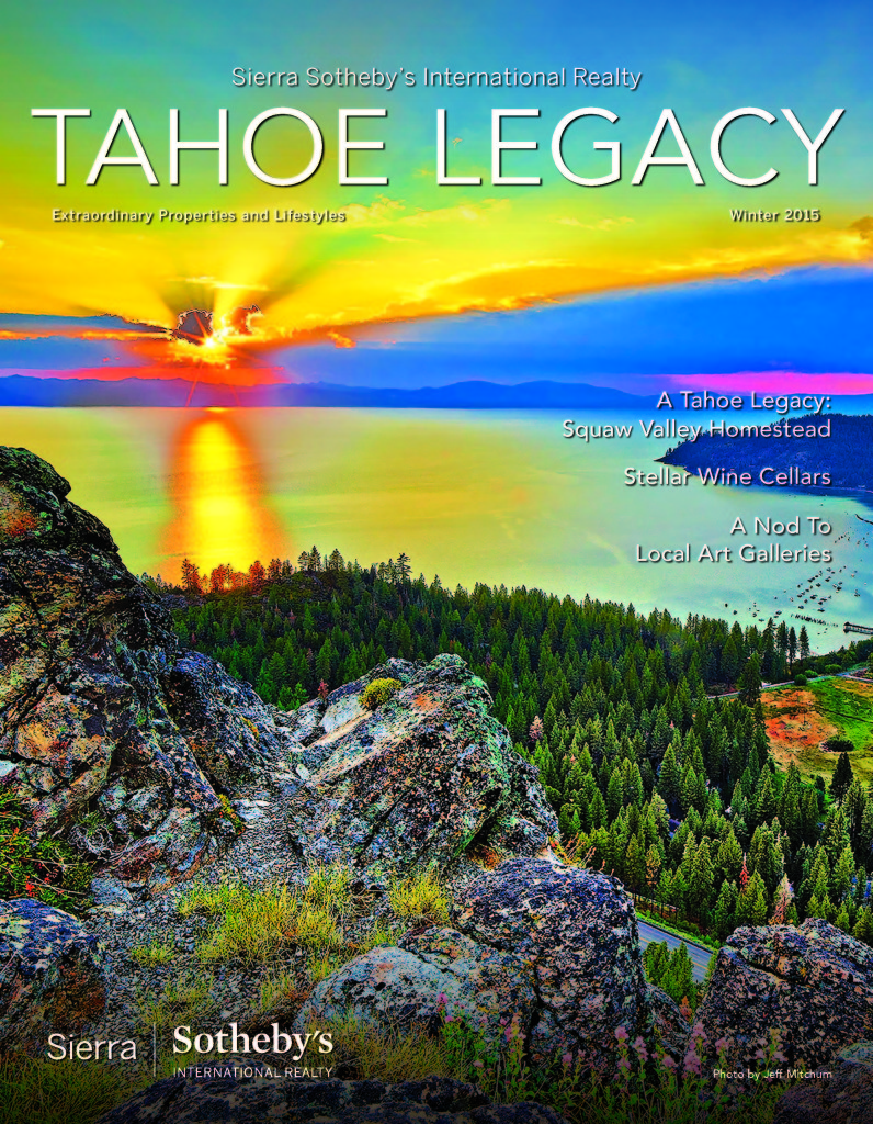 Tahoe Legacy Cover